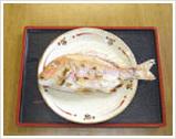 出産お祝いの鯛